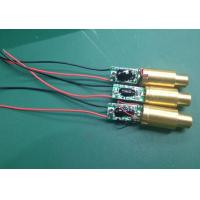 Quality 532nm 5mw green dot laser module for sale