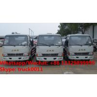 China Customized Bottom price JAC 8cbm fuel truck for sale, HOT SALE!best price JAC oil bowser vehicle for sale on sale