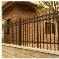 China Q235 Steel Tubes Villa Fence Powder Coated Square Post 60*60*2mm Highly Safe on sale