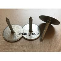 Buy cheap Air Ducting Capacitor Discharge Weld Pins , 3.4 Mm X 22 Mm Cupped Base Welding from wholesalers