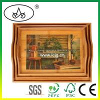 Wholesale China Wooden Table Decorative Serving Plate for Hotel/Food/Fruit/Restaurant/Kitchen (LC-36 from china suppliers