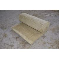 Wholesale Fire Resistant Rockwool Insulation Blanket , Furnaces Rock Wool Roll from china suppliers