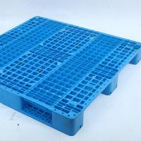 China 4000kg Load Euro Standard HDPE Material Double-faced Plastic Pallet on sale