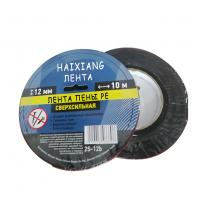 China Solvent acrylic adhesive double sided black pe foam tape on sale