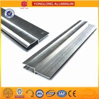China Silver / Champagne Anodized Aluminum Extrusion Profiles For Industrial wholesale