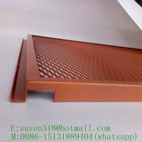 China powder coated aluminum expanded metal for interior ceiling design wholesale