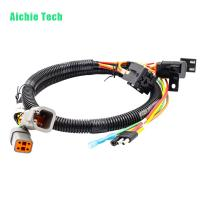 Quality custom automotive connecting harness trailer plug wiring loom for sale