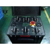 China Anti-Drone Uav Jammer Pelican case WIFI GPS signal Jammer  Cover 100% Drones Uav on sale