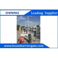 China Intelligent Parking LED Boom Barrier Gate 24VDC 430.5MHz With Auto Close wholesale