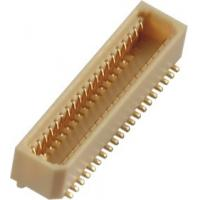 China Female Board To Board Connectors Straight SMT PA9T 0.8 Mm Pitch wholesale