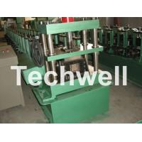 China GCr15 Steel Roller, High Speed Shelf Roll Forming Machine For 1.8 - 2.3mm Material wholesale