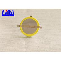 China Rechargeable Cr2032 With Solder Tabs , Cr2032 Lithium Battery Coin Cell wholesale
