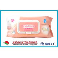 China Ultra Soft Disposable Baby Wet Wipes / Wet Tissue For Baby , 80 Sheets Per Pack wholesale