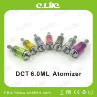 China No Leaking No Burning DCT Tank / 3.5ml 6.0ml 510 Dct Clearomizer wholesale