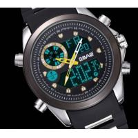 Quality Wholesael new Sbao Men dual time waterproof chronograph alarm outdoor casual for sale