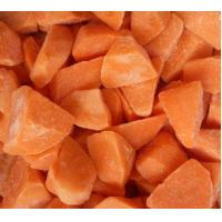 China Full Nutritions Contained Frozen Diced Carrots Fresh Vegetable Frozen Process Flow wholesale