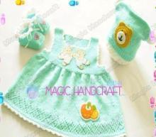 Handcraft Chinese Crochet Baby Clothing