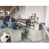 China 12 Stations PLC Control Cable Tray Cover Roll Forming Machine 10-15m/min wholesale