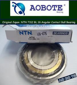 China NTN Angular Contact Ball Bearing 7312 BL 1G with Radial and Axial Load wholesale