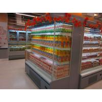 China Vertical refrigerated multidecks - NEW YORK, for supermarket beverage display. wholesale