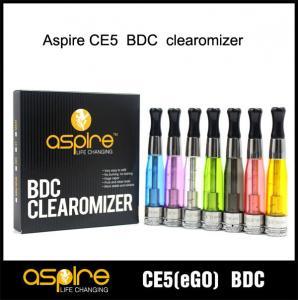 China e-cigarette Supplier SEHOYA Vapor Aspire CE5 BDC atomizer Glass Version