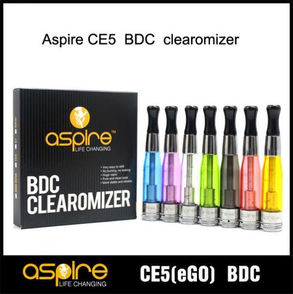 Quality China e-cigarette Supplier SEHOYA Vapor Aspire CE5 BDC atomizer Glass Version for sale