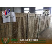 China Mil8 1.37m high HESCO Defensive Gabion Barrier    China Gabion Barrier Factory wholesale