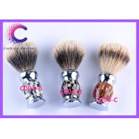 Quality Handmade Eclusive color handle silver tipped badger shaving brush 26 x 116mm for sale