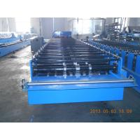 China Big Wave Corrugated Roof Panel Sheet Roll Forming Machine Galvanised 3.5KW wholesale