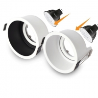 China Trimless Surface Mounted MR11 LED Downlight Housing on sale