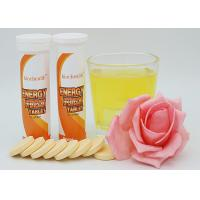 OEM Effervescent Energy Tablets / Effervescent Drink Tablets With Sample Available