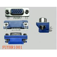 Buy cheap 15P Right Angle D-sub Connectors Receptacle Female PCB Connector With Jack Screws from wholesalers
