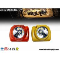 China Green Safety LED Cordless Mining Headlamps With 232LUM  Strong Brightness wholesale