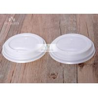 China Compostable Disposable Lids Plastic - Free PLA Sip For Hot Beverage Cups wholesale