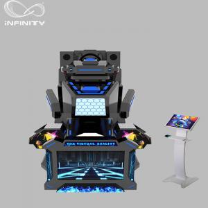 China 1 Seat Real Track VR Racing Simulator / 360 Degree Electric Motion  Car Racing Machine wholesale