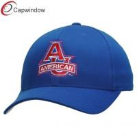 China Blue American Cotton Fabric Baseball Caps , Sports Caps for Unisex wholesale