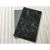 Quality Marble pattern Aluminum Composite Building Panels , ACM Aluminum Panels for sale
