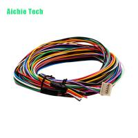 Multi colored coded automotive cable harness assemblies