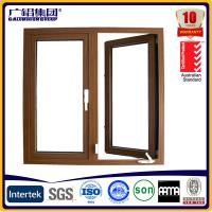 China aluminum crank windows aluminium crank casement windows on sale