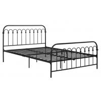 Classic Home King Size Metal Bed French Style For Adult