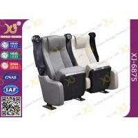 China Durable Micro Fiber Leather Folding Theater Seats Home Theater Recliner Seats wholesale