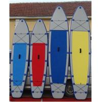 China Lightweight Inflatable Stand Up Paddle Board , Inflatable Surf Sup Tearproof wholesale