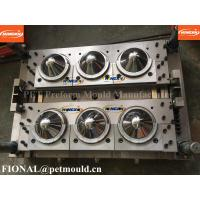 China 8 cavity jar preform mould( wide mouth) pin valve gate preform mould wholesale
