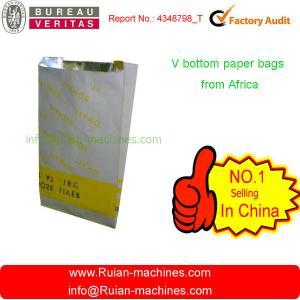 China machine making paper bag on sale
