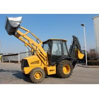 China High Configuration Tractor Loader Backhoe Operating Weight 7000 kg , CE wholesale
