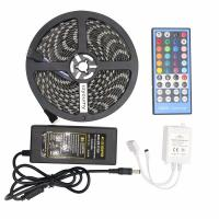 China 5050 RGBW Led Strip 60leds/M RGBWW Led Strip Light IP65 With 40 Keys IR Remote Controller wholesale