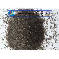 China Grit Brown Sand Blast Media High Cycle Index Aluminum Oxide 9.0 Mohs Hardness wholesale