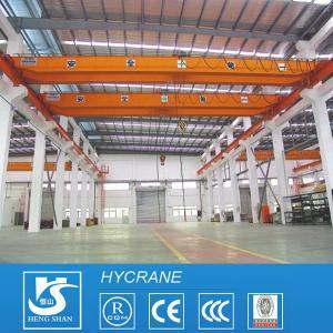 China Double Girder Double Speed EOT Crane LH Electric Hoist Overhead Crane wholesale