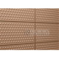 China 1.5mm 2mm 2.5mm 3mm 4mm Aluminum Architectural Panels Solid Embossed Textured wholesale