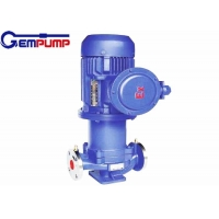 China CQB-L 22KW Vertical Pipe Stainless Steel Magnetic Pump 25m3/H Big Flow on sale
